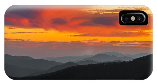 Breathtaking Blue Ridge Sunset IPhone Case