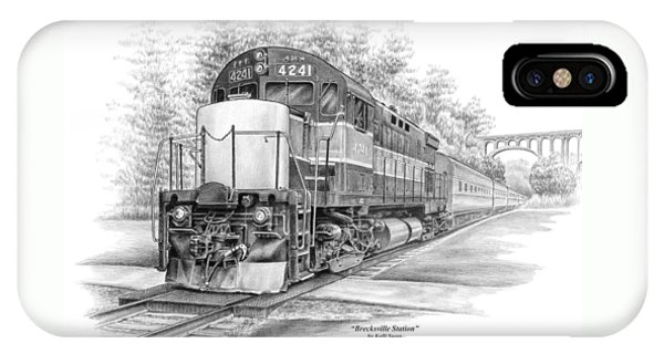 Brecksville Station - Cuyahoga Valley National Park IPhone Case