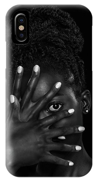 Hand iPhone Case - Brenda by Sebastian Wuttke