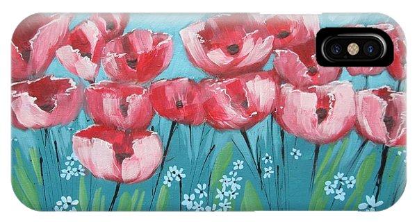 Brezzy Poppies IPhone Case