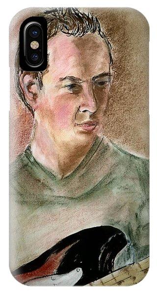 Brian's Portrait IPhone Case