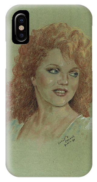 Kentucky Beauty IPhone Case