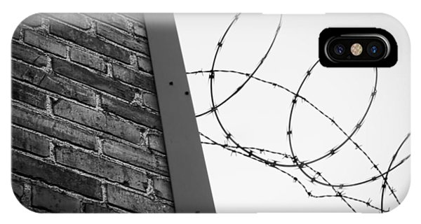 Brick And Wire IPhone Case