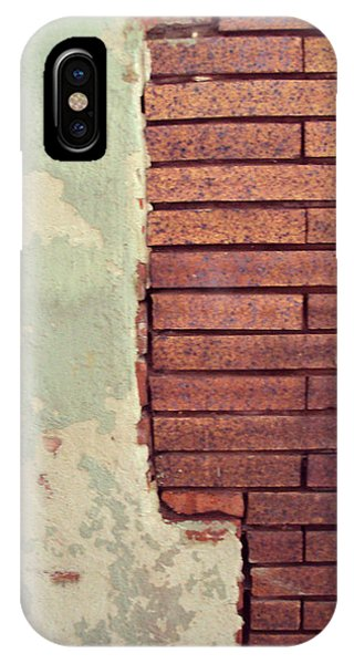 Brick Wall Phone Case by Cynthia Harvey