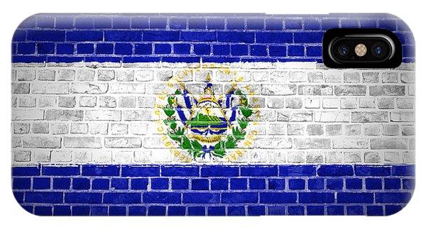 Brick Wall El Salvador IPhone Case