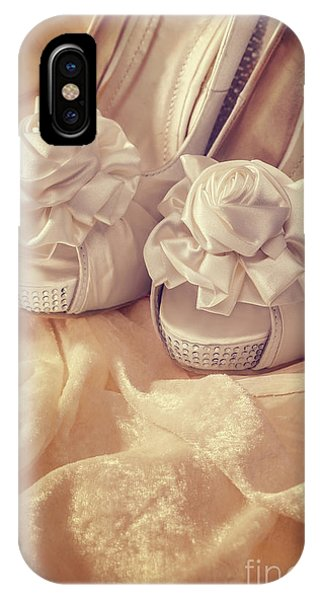 Bridal iPhone Case - Bridal Sandals by Amanda Elwell