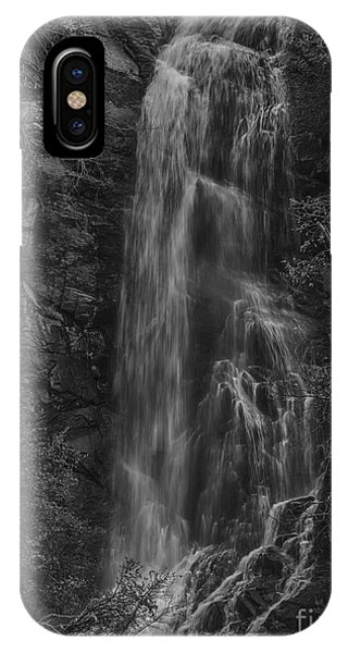 Bridal Veil Falls At Spearfish Canyon South Dakota IPhone Case