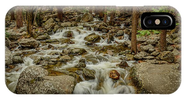Bridalveil Creek In Yosemite IPhone Case