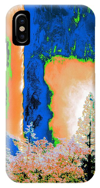 Bridalveil Fall Abstract IPhone Case