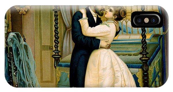 Bride And Bridegroom IPhone Case