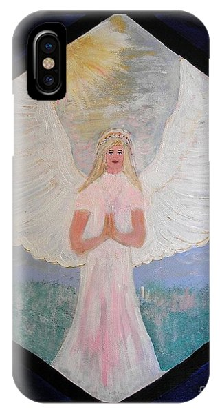 Angel In Prayer  IPhone Case