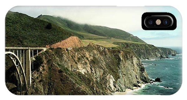 Bridge Across Hills At The Coast, Bixby IPhone Case
