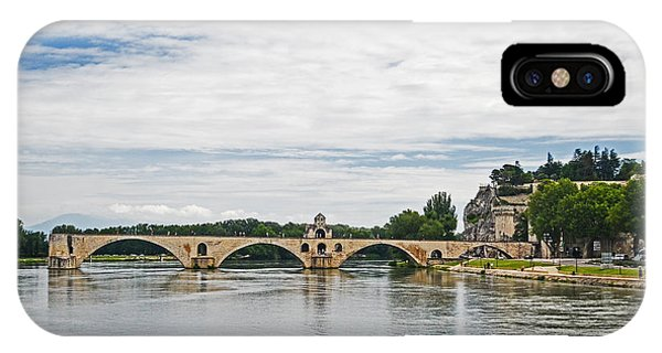 Bridge At Avignon IPhone Case