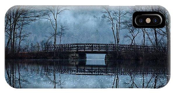 Bridge At Chocorua IPhone Case