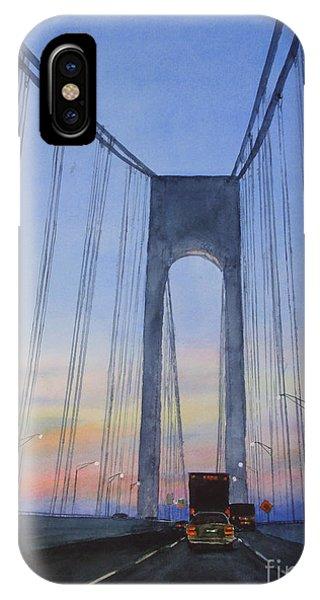 Bridge At Dawn IPhone Case