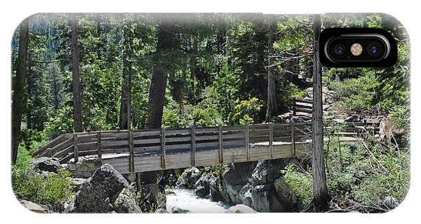 Bridge At Lake Tahoe IPhone Case