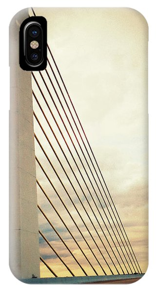 Bridge Crossing The River IPhone Case