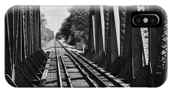 Bridge In Black And White IPhone Case