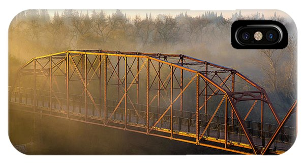 Bridge In Fog  IPhone Case