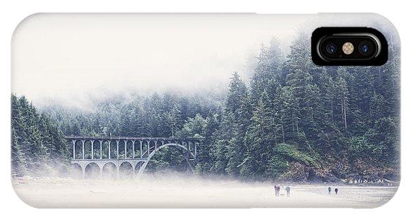 Bridge In The Mist  IPhone Case