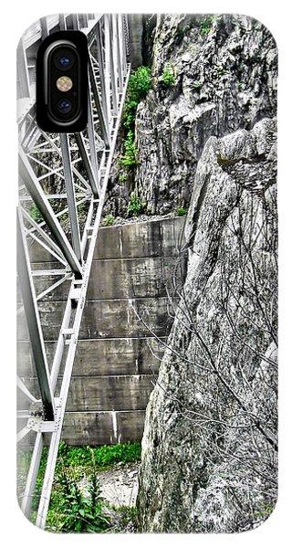 Bridge In Vermont IPhone Case