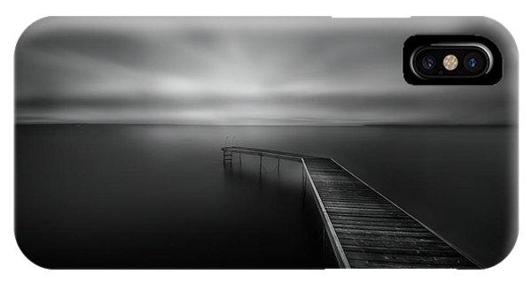 Pier iPhone Case - Bridge by Larry Deng
