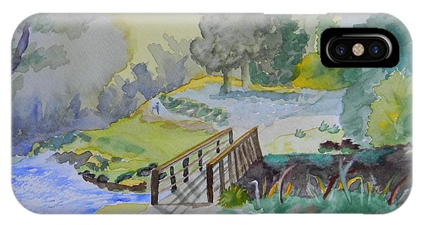 Bridge Near Enniskerry Ireland  IPhone Case