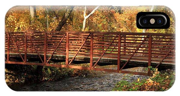 Bridge On Big Chico Creek IPhone Case