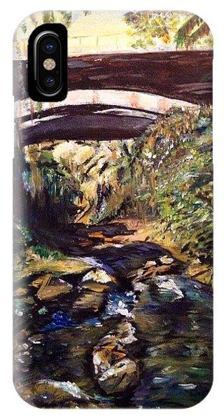 Bridge Over Calm Waters IPhone Case