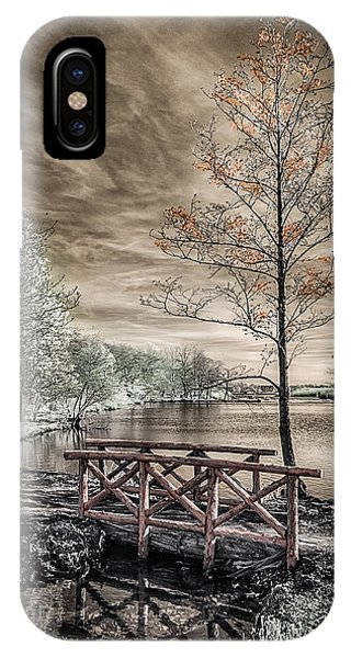 Bridge Over Calm Waters IPhone Case