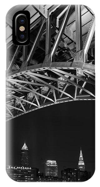 Bridge Over Cleveland  IPhone Case