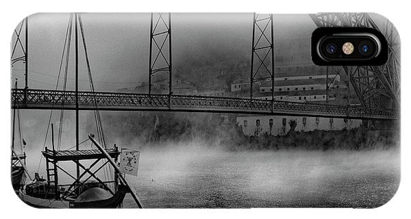 River iPhone Case - Bridge Over Douro by Fernando Jorge Gon?alves