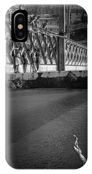 Iron iPhone Case - Bridge Over Douro - Luis I by Fernando Jorge Gon?alves