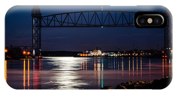 Bridge Over Moonlit Water IPhone Case