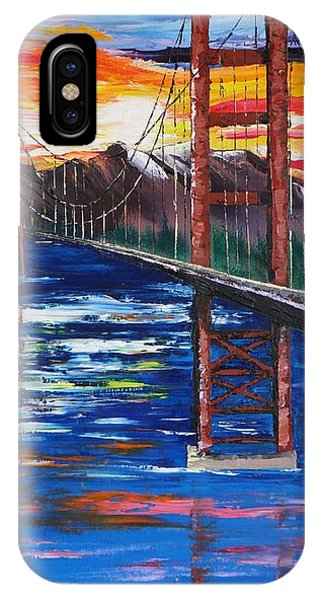 Bridge Over Ocean IPhone Case