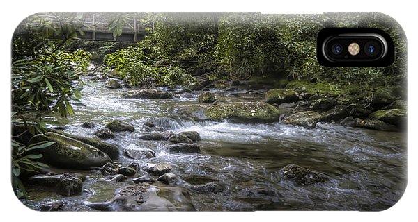Bridge Over Running Water IPhone Case