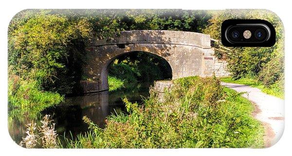Bridge Over Still Waters IPhone Case