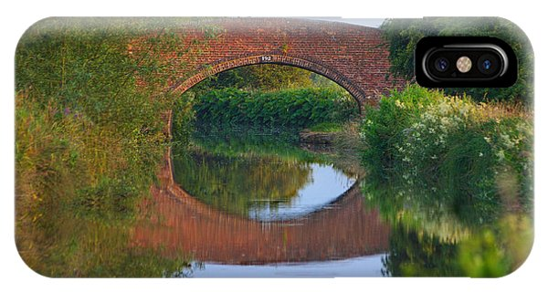 IPhone Case featuring the photograph Bridge Over The Canal by Jeremy Hayden