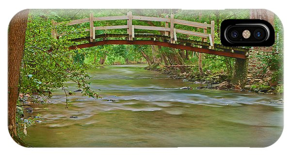 Bridge Over Valley Creek IPhone Case