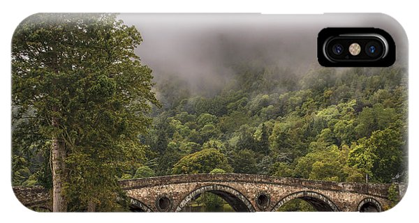 Landscape Wall Art Kenmore Bridge IPhone Case