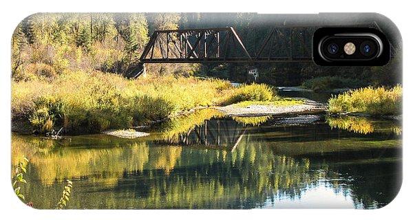 Bridge Reflections Phone Case by Curtis Stein