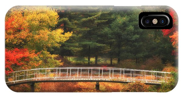 Bridge To Autumn IPhone Case