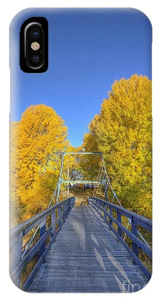 Salo iPhone Case - Bridge To Autumn by Veikko Suikkanen