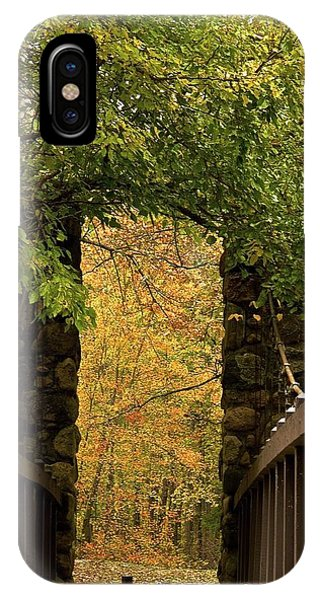 Bridge To Enchantment Phone Case by Kimberly Davidson