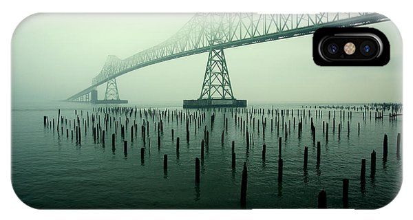 Fog iPhone Case - Bridge To Nowhere by Todd Klassy