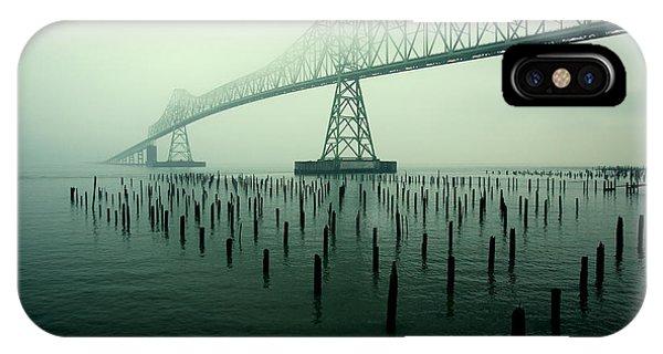 Bridge iPhone Case - Bridge To Nowhere by Todd Klassy