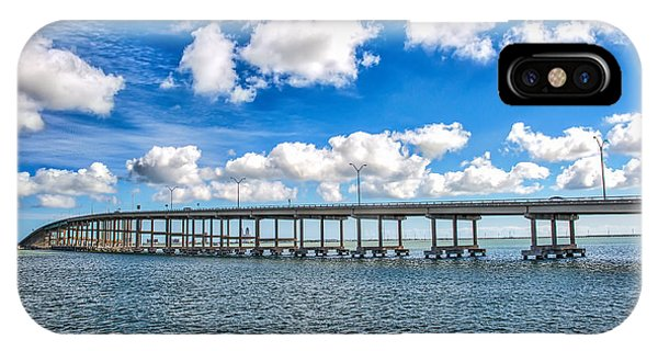 Bridge To South Padre IPhone Case