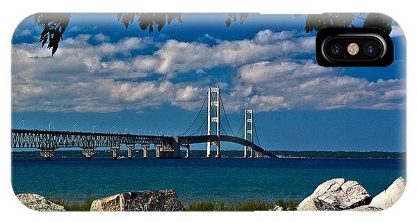 Bridge To The U.p. IPhone Case