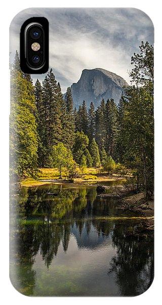 Bridge View Half Dome IPhone Case