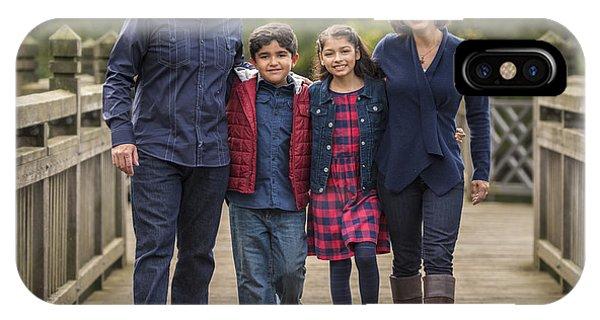 Bridge Walk - Group Hug IPhone Case